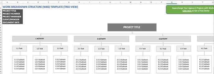 wbs-work breakdown structure